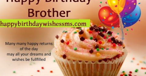 Happy Birthday Wishes For Brother-Birthday Message For Brother 1