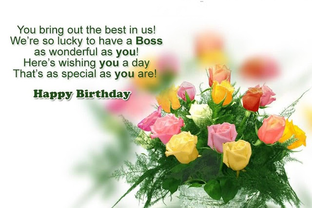 Happy Birthday Wishes For The Boss - Birthday Wishes For Team Leader